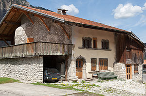 Grandvillard - Maison-des-Comtes in Grandvillard village