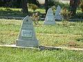Grave of 27 hero Soviet soldiers. WWII memorial cemetery. - Simontornya.JPG