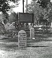 Graves at Boot Hill, Dodge City, KS, 1959(1).jpg