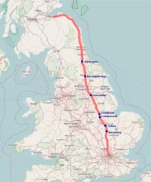 Great North Road (Great Britain) - Wikipedia