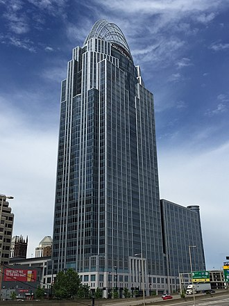 Great American Tower at Queen City Square - Great American Tower in Downtown Cincinnati