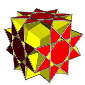 Great rhombihexahedron - Image: Great rhombihexahedron 2
