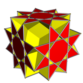 Great rhombihexahedron - Image: Great rhombihexahedron 2