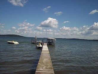 Green Lake (Wisconsin) - Image: Green Lake WI