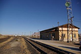 Green River station (Utah) Amtrak station in Green River, Utah, United States