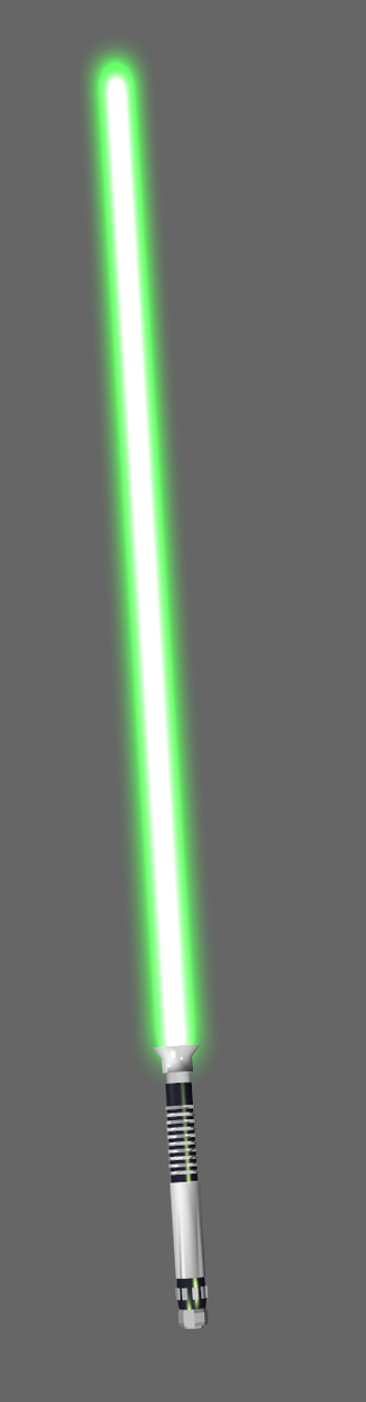 Physics and Star Wars - Green lightsaber