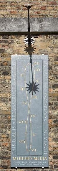 Greenwich Royal Observatory Noon Mark