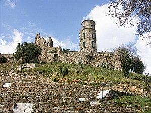 Grimaud, Var - Castle ruins