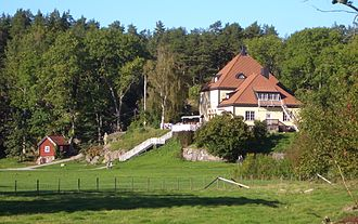 Grinda - Grinda Värdshus - the tavern.