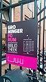 Groninger Forum Bibliotheek opening hours, Groningen (2019) 02.jpg