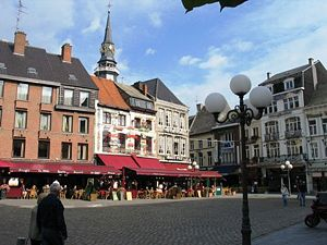 Limburg (Belgium) - View of the Great Market place in Limburg's capital Hasselt