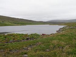 Grothusvatn, Sandoy, Faroe Islands.JPG