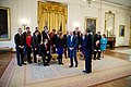 Group photo in the East Room of the White House, 2015.jpg