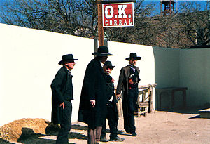 Re-enactment of the Gunfight at the O.K. Corra...