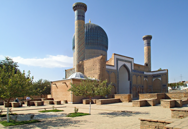 Мавзолей Эмира Тимура в Самарканде.