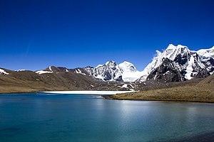 Gurudongmar Lake - Gurudongmar Lake in Sikkim.