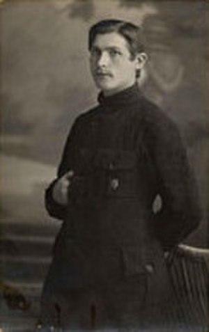 Gustav Klutsis - Gustav Klutsis in 1915.