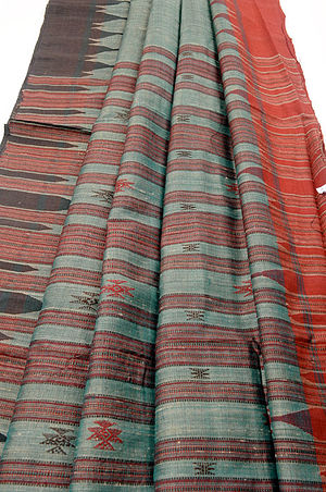 Habaspuri Saree & Fabrics - A Habaspuri sari.