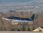 HB-VCN Rockwell NA-265 Sabre 65 SBR1 -ONG (11870890803).jpg