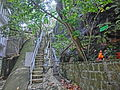 HK 大坑 Tai Hang 浣紗街 Wun Sha Street end outside stairs Apr-2014.JPG