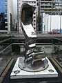 HK Causeway Bay HKCL terrace Stainless steel metal sculpture Aug-2012.JPG