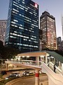 HK WC 灣仔 Wan Chai Gloucester Road near Sun Hung Kai Centre footbridge evening November 2020 SS2.jpg