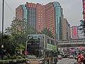 HK Yau Ma Tei Nathan Road Feb-2014 view Eaton Hotel facade KMBus 1 head.JPG