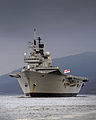 HMS Ark Royal Visits HMNB Clyde for the Final Time MOD 45152035.jpg