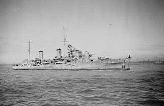 William Boyle, 12th Earl of Cork and Orrery - The cruiser HMS ''Aurora'' which Boyle used as his flagship for operations off Norway during the Second World War