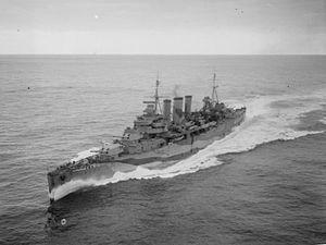 Cedric Holland - Image: HMS Kent (54)