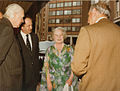 HM Queen Mother at the formal opening of the new library in the Lionel Robbins Building, 10th July 1979 (2).jpg