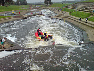Holme Pierrepont National Watersports Centre - Image: HPP Whitewater