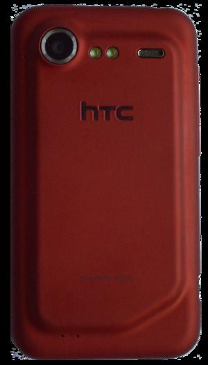 HTC Incredible S - Backside