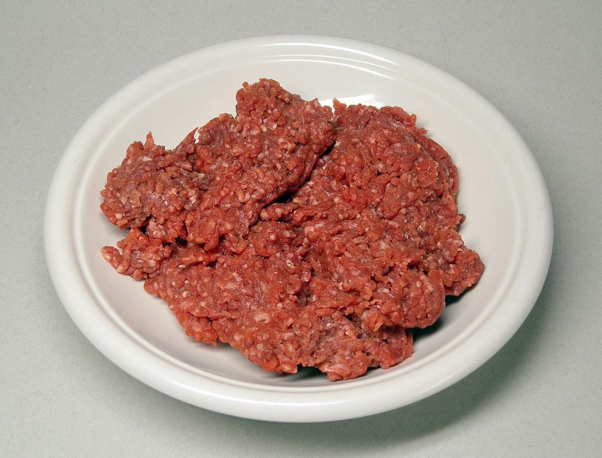 wikipedia beef ground hackfleisch