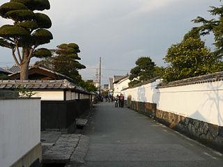 Hagi, Yamaguchi City in Chūgoku, Japan