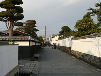Jōkamachi - A well-preserved castle town district in Hagi, Yamaguchi