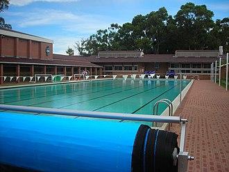 Hale School - Image: Hale pool