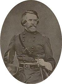 Half portrait of Brigadier General Milledge Luke Bonham in uniform, holding a sword (cropped).jpg