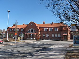 Hämeenlinna railway station - Hämeenlinna station, April 2007