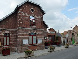 The town hall in Hamel