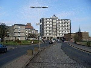 Cambuslang - Image: Hamilton Road geograph.org.uk 1230036