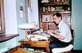 Hammond Collection Moscow Unlabeled 48. Hammond in his MSU room.jpg
