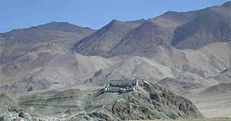Sengge Namgyal - Hanle Gompa, built by Sengge and Stag-tsang-ras-pa, soon after his conversion to the Drugpa sect of Tibetan Buddhism