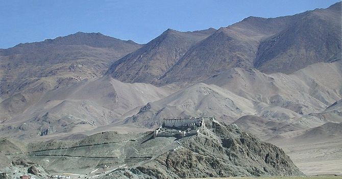 English: Hanle Gompa. Photograph uploaded by I...