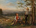 Hans Thoma - Landschaft mit Hirten (1857).jpg