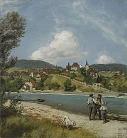 Hans Thoma - Waldshut (1870)