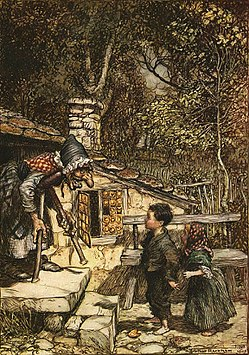 Artwork by Arthur Rackham, 1909.