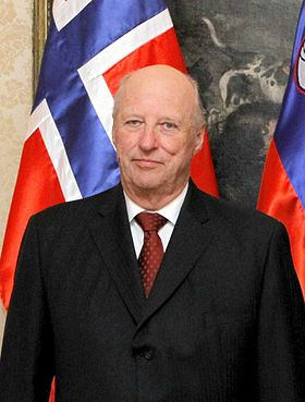Harald V of Norway in Slovenia in 2011 (crop).jpg