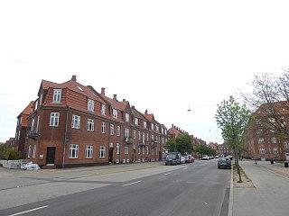 Haraldsgade Street in Copenhagen