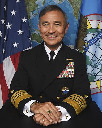 Hāfu - American four-star admiral Harry B. Harris, Jr., who was born in Japan to a Japanese mother and a father who was a US soldier